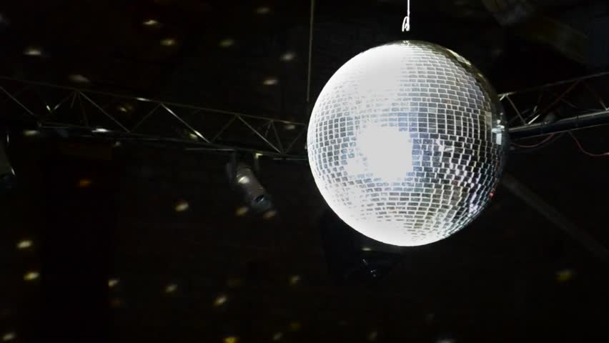 Beautiful Disco Ball Spinning seamless with flares. Loop-able isolated Mirrorball. HD 1080. | Shutterstock HD Video #1010932439