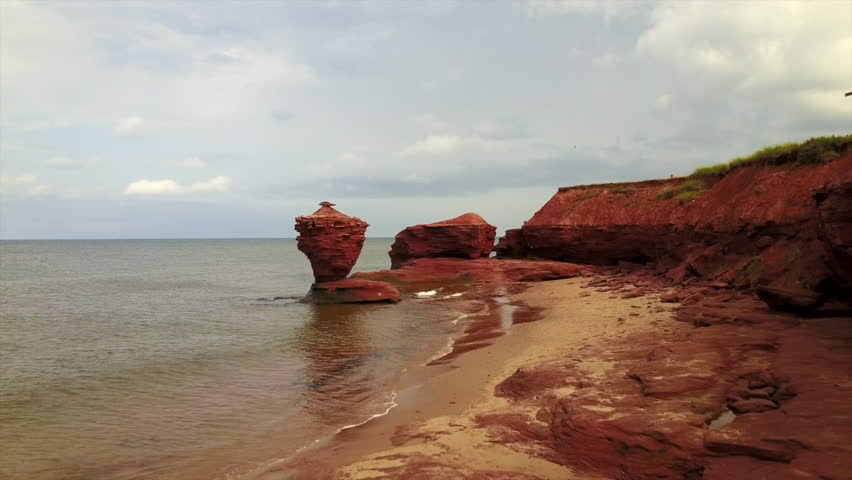 Prince Edward island Red rock Thunder cove