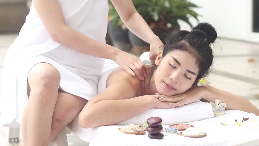 Asian massage video