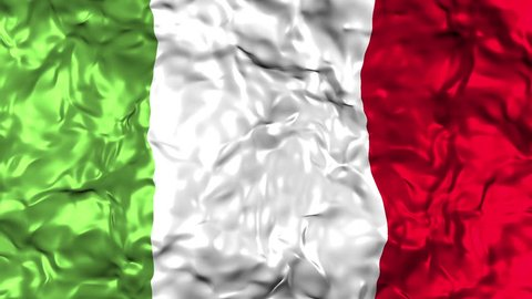 Italian Flag - waving
