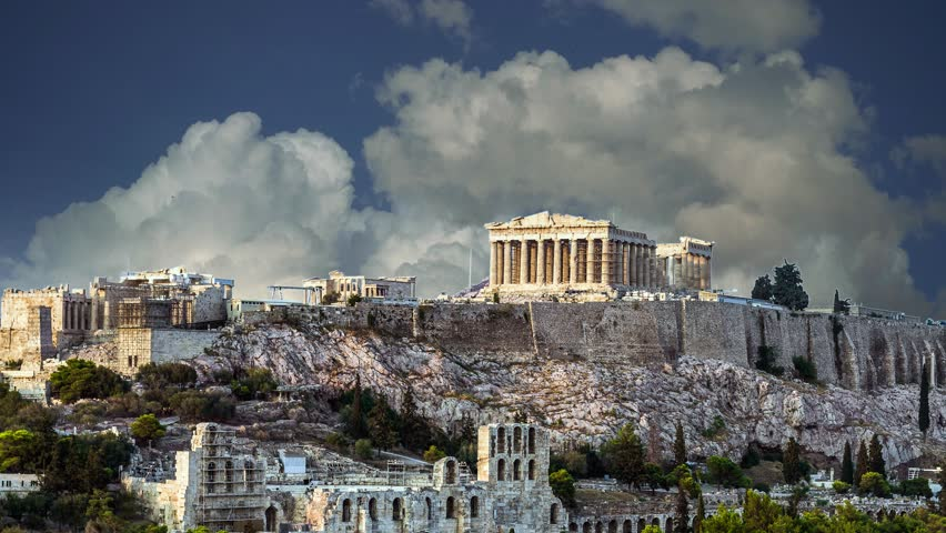 Parthenon Acropolis of Athens, Greece