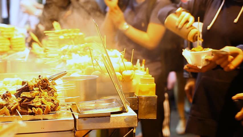 STREET FOOD IN ASIA | Shutterstock HD Video #1011387029