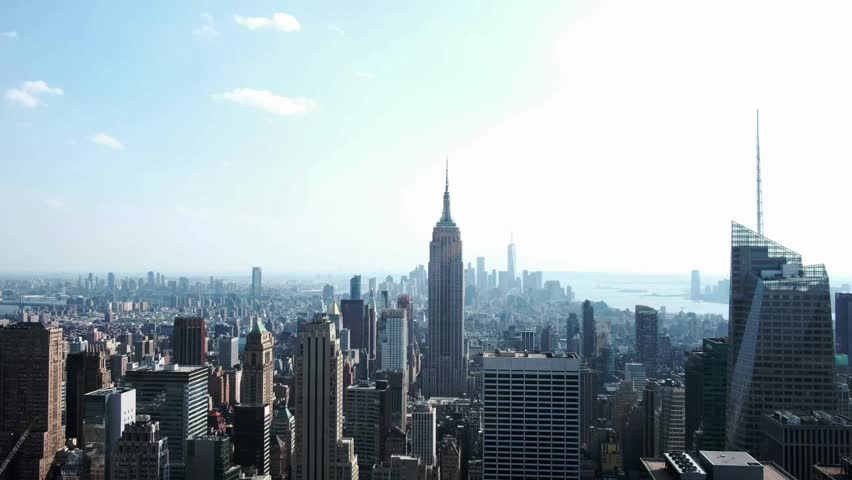 USA, New York city - May 10, 2018: view of New York city | Shutterstock HD Video #1011816359