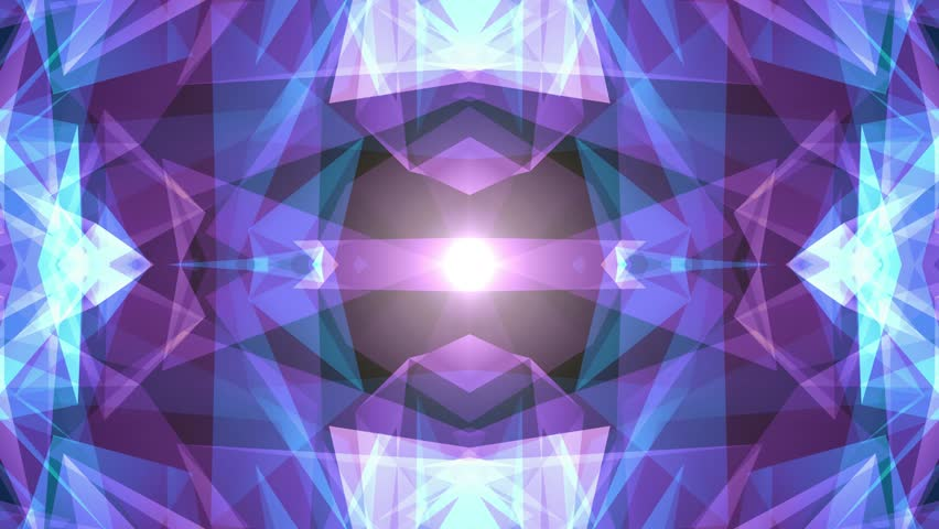 Abstract symmetrical BLUE PURPLE polygon star shape net shiny cloud animation background new quality dynamic technology motion colorful video footage | Shutterstock HD Video #1011980789