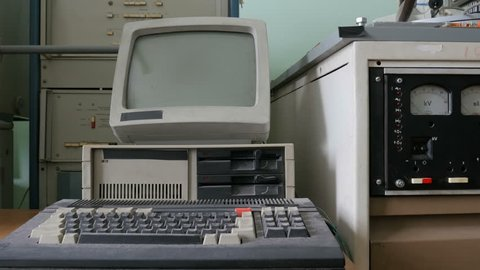 The retro pc computing machine