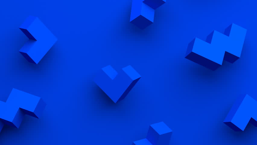 Abstract 3d rendering of geometric shapes. Computer generated loop animation. Modern background with simple forms. Seamless motion design for poster, cover, branding, banner, placard. 4k UHD | Shutterstock HD Video #1012064579