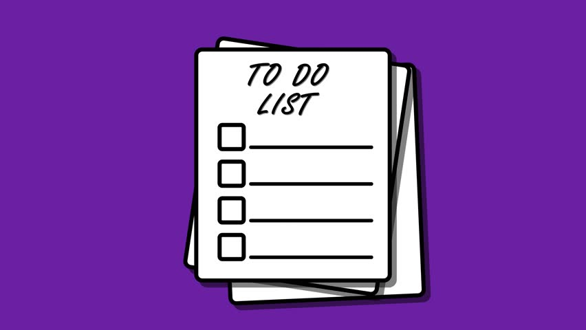 to do list graphic icon