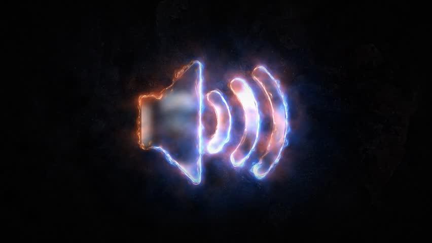 Volume icon. Sound control icon or icon. Sound wave 28.
