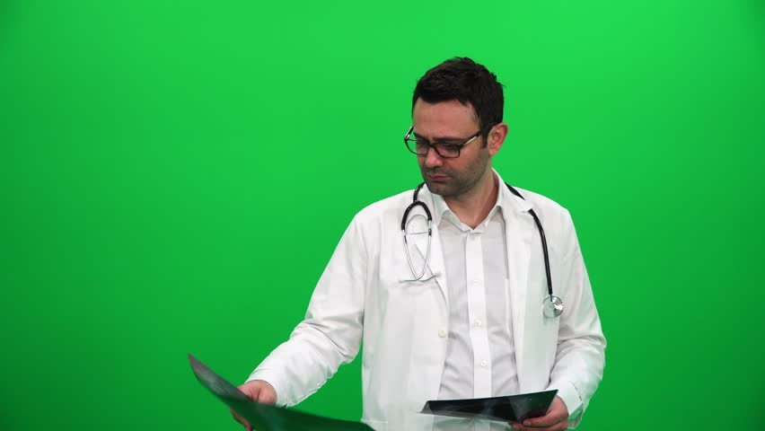 Doctor Examines Chest X-ray On Stock Footage Video (100% Royalty-free)  1012414709 | Shutterstock