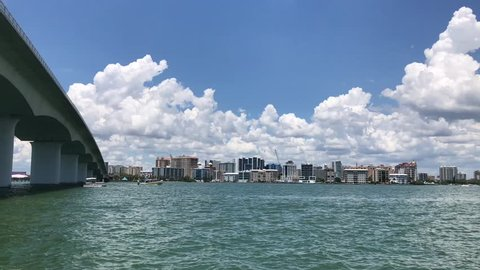 View of Sarasota Downtown and Ringling Bridge