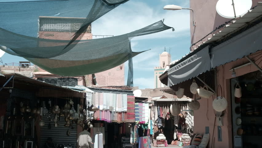 Marrakech, Morocco - March 26, Stock Footage Video (100% Royalty-free)  1013244659 | Shutterstock