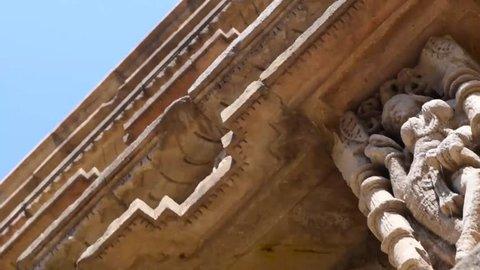 footage of world heritage rani ki vav(step well)
