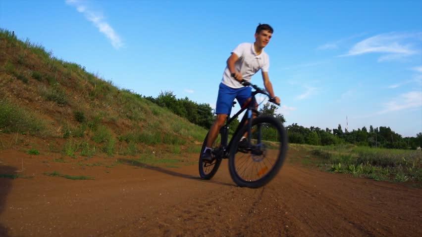 Bike sport mountain bike ride | Shutterstock HD Video #1013666999