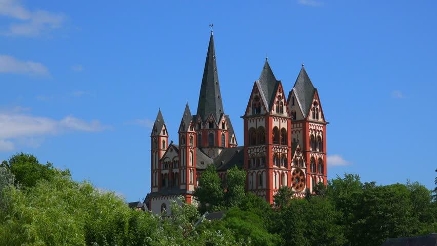 Cathedral of Limburg, Limburg an der Lahn, Westerwald, Hesse, Germany, Europe