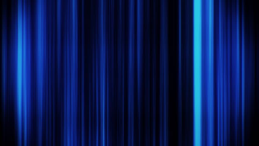 Blue Glowing Vertical Lines Loop Motion Graphic Background