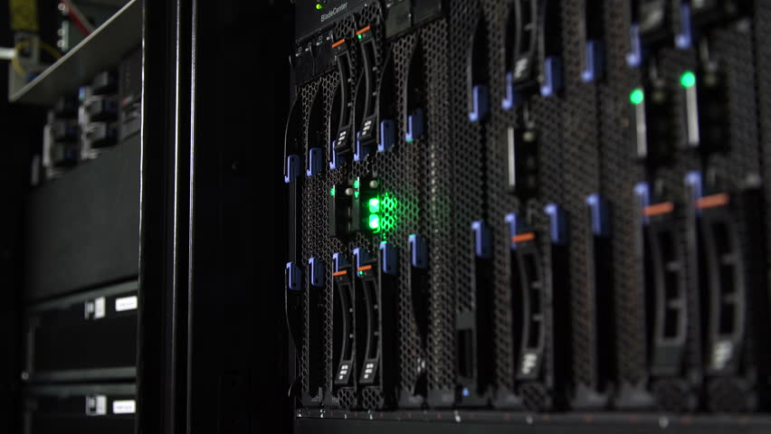 Server and array disk storage in data center | Shutterstock HD Video #1013907839