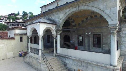 Aerial view of historical Safranbolu Houses. Safranbolu City is on UNESCO world heritage list. Karabuk,Turkey 27.08.2015