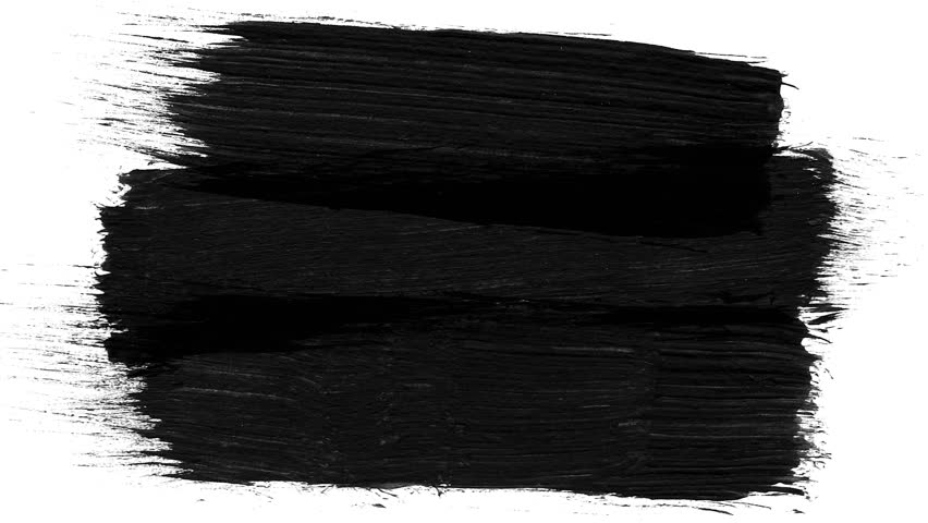 Abstract paint brush stroke black and white transition background, animation of paint splash | Shutterstock HD Video #1014215909
