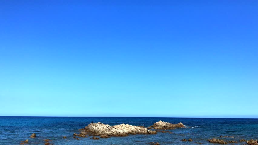 2018, July 26, - Backgroung of the beautiful sea of Sardegna