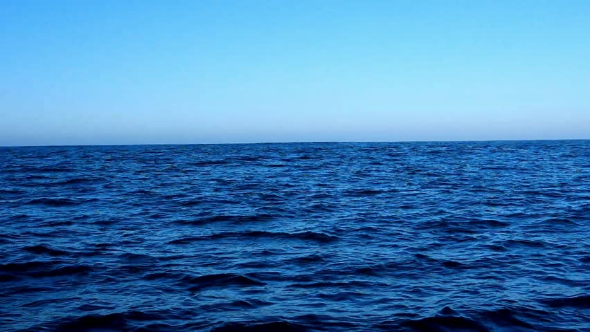 view from a sailboat far off the see along the atlantic coast of europe #1014324989