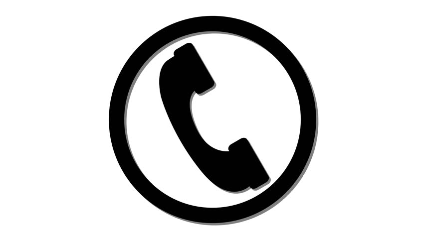 Cell Phone Icon >> Cell Phone Icon Incoming Call Stock Footage Video 100 Royalty Free 1014439259 Shutterstock