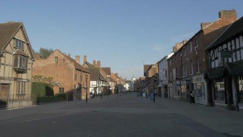 Shakespeare's Birthplace on Henley Street, Stratford Upon Avon, Warwickshire, England, United Kingdom, Europe