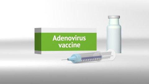Adenovirus vaccine medical treatment