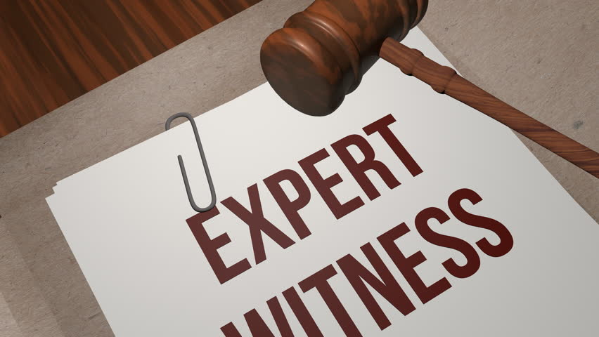 EXPERT WITNESS legal concept
