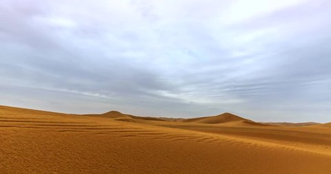 The expansive desert of China's Xian-time lapse