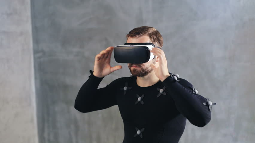 Young Man Wearing Motion-capture Suit Stock Footage Video (100%  Royalty-free) 1014773459 | Shutterstock