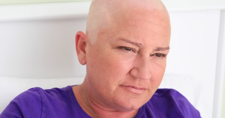 Cancer patient having a nausea