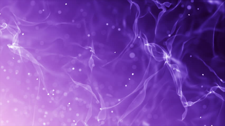Blue and Purple abstract motion background canvas with suspended glow particles. Dust motion, swirling lights, glittering bokeh lights and light rays, space animation. Seamless loop  4K UHD FullHD.