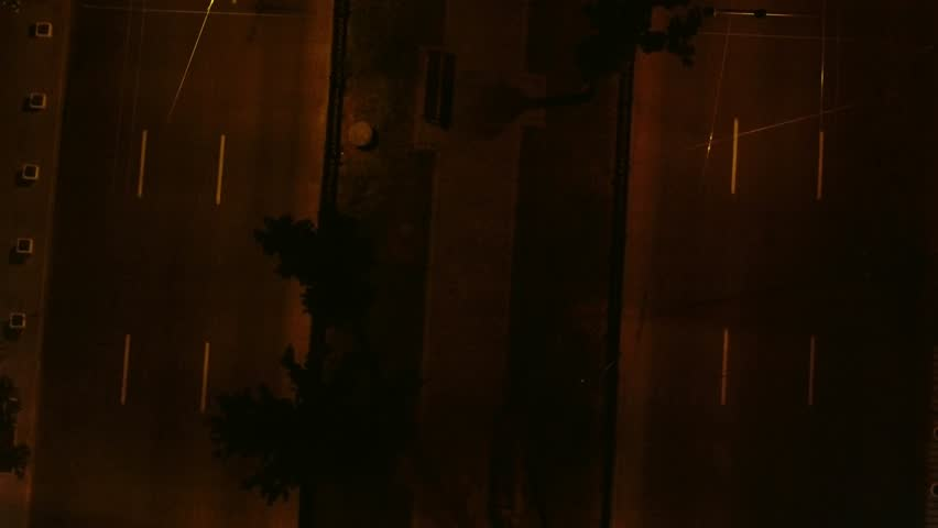 interior sparking electrical box fuse stock footage video (100 Circuit Breaker Box aerial top view night city, night city life, cars, streets, people,