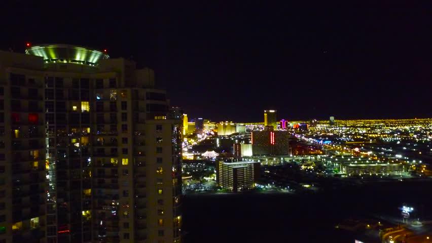 Aerial shot of Las Vegas, Nevada, United States | Shutterstock HD Video #1014938389