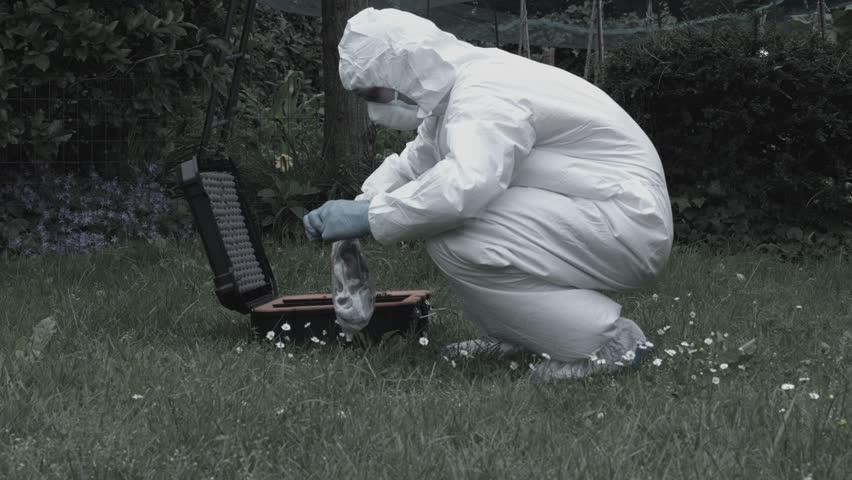 Outdoor Crime Scene Investigation | Shutterstock HD Video #1015202359