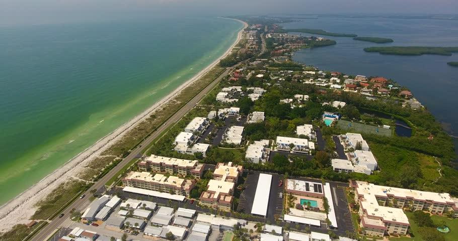 Florida Highway Aerial Drone