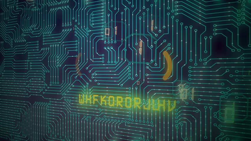 Error, futuristic background | Shutterstock HD Video #1015240609