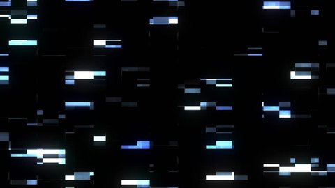 fast blue glitch interference screen background for logo animation new quality digital twitch technology colorful video footage