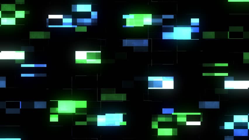 Fast glitch interference screen background for logo animation new quality digital twitch technology colorful video footage | Shutterstock HD Video #1015335019