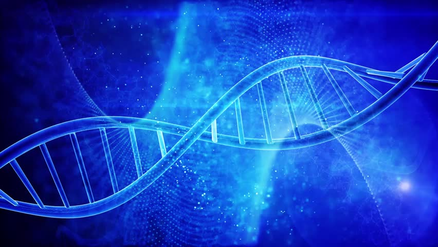 DNA double helix medical background