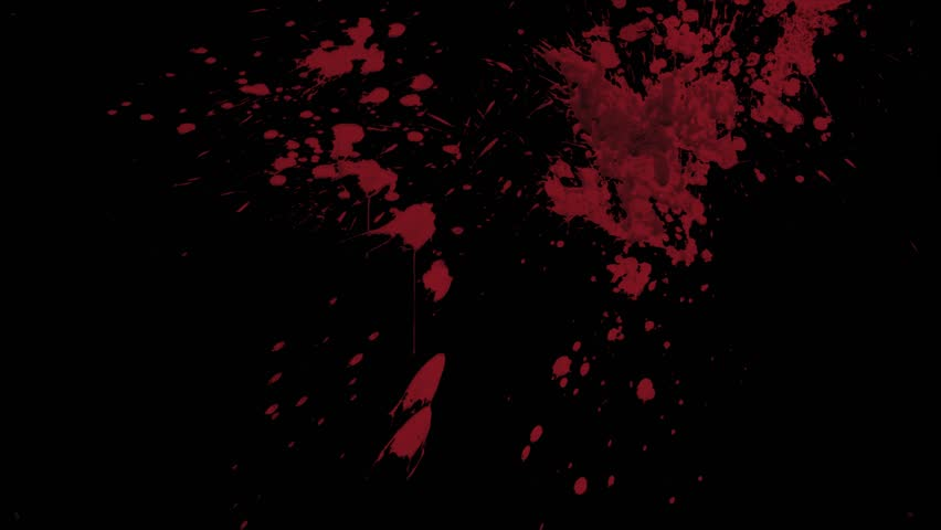Red Blood Splattering Against Black Stock Footage Video (100% Royalty-free)  1015627219 | Shutterstock