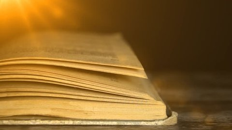 A mysterious book. The book is full of mystery. Fairy tales. 6