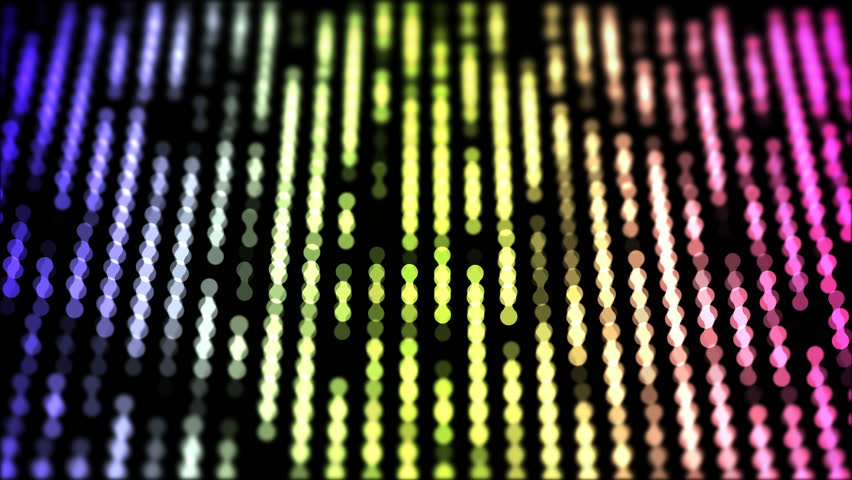 Dots moving down in a row, abstract colorful composition closeup view, loop able 4k horizontal video background | Shutterstock HD Video #1015749259
