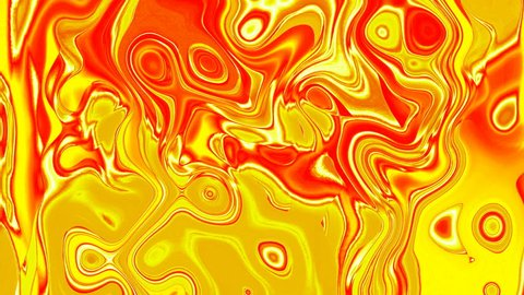 Colorful liquid plasma. Psychedelic looped graphic animation. Dynamic abstract background. Animated wallpaper.