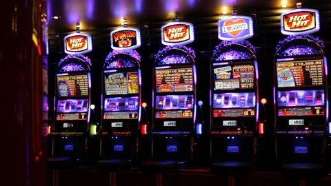 Casino, Slot Machines Pan-july 2018 วิดีโอสต็อก (ปลอดค่าลิขสิทธิ์ ...
