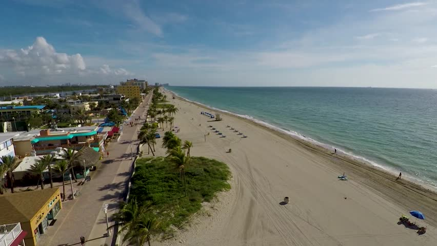 Hollywood Beach Coast Hover North