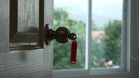 Key chain with door knob
