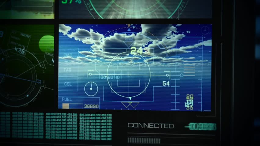Direct Military Action and Spy theme with Aircraft HUD and 3D aerials.
