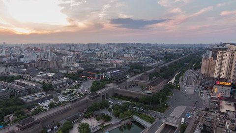 Xian Changlemen Turns Night