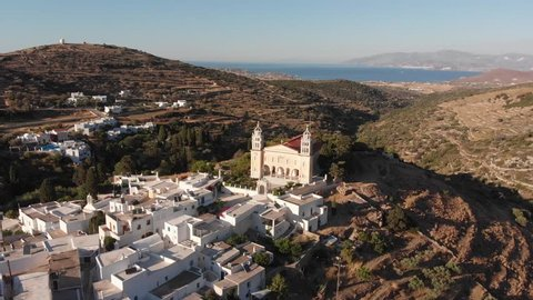 Monastery in Paros, Greece